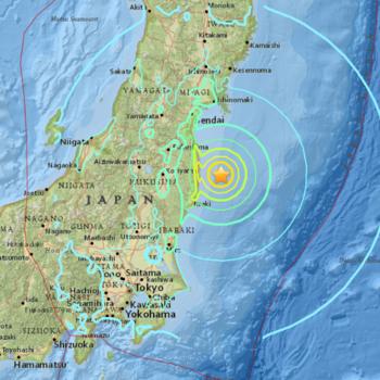 Tsunami warning issued following quake off Japan coast